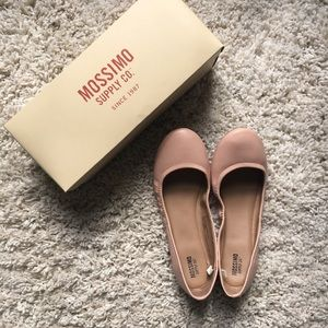 Target Mossimo Faux Leather Ballet Flat Blush 8